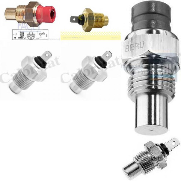 Датчик, температура охлаждающей жидкости; Датчик, температура охлаждающей жидкости для ALFA ROMEO 90 (162)