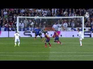 Benzemas home league goals vs Barcelona!