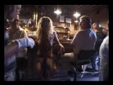 Biki G. nude in bar 3