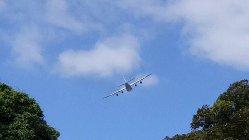 AN-124 takeoff