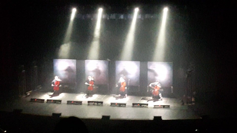 Apocalyptica Plays Metallica, Crocus, Moscow – Master of Puppets 23.04.2017