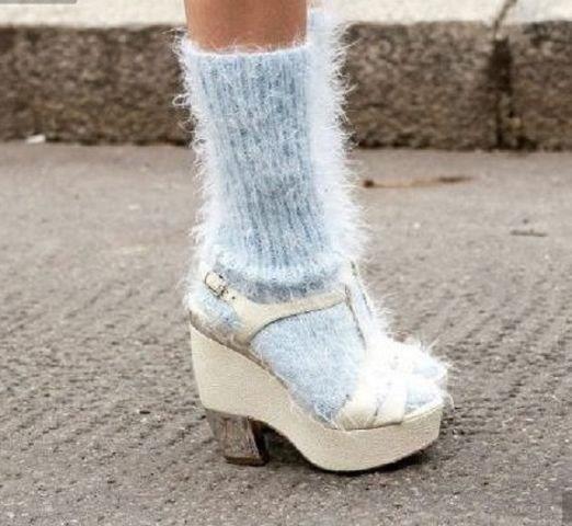 Босоножки на носки