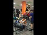 Жим Ногами 555 кг. на 8 повторов