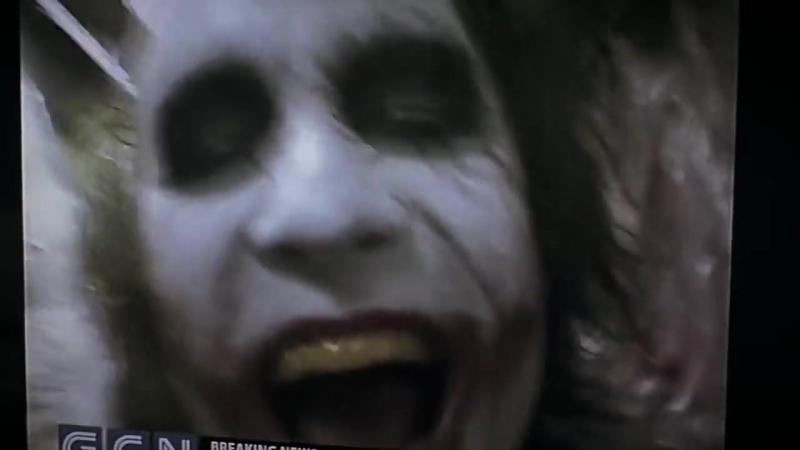 Темный Рыцарь | The Dark Knight (2008) Сцена с Заложником по Телевизору | LOOK AT ME!