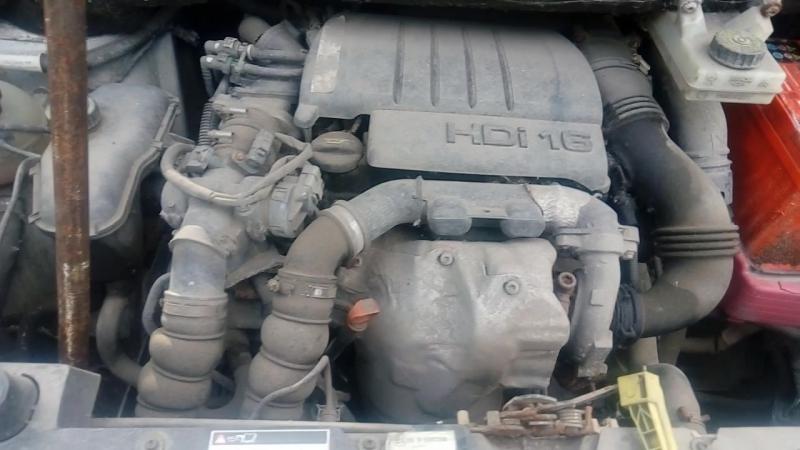 мотор 1.6hdi на берлинго