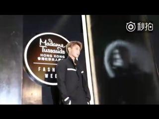[VIDEO] 70723 Tao @  Madame Tussauds Hong Kong Weibo Update [Eng Sub]