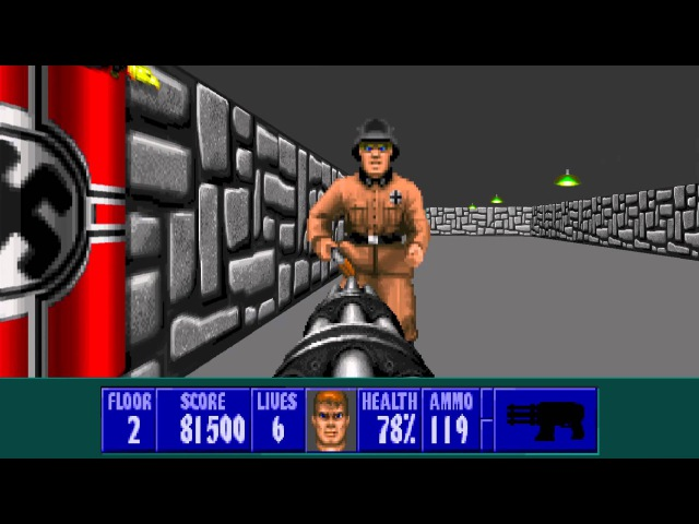 ECWolf - Enhanced Wolf3D (w/ 3DO music)