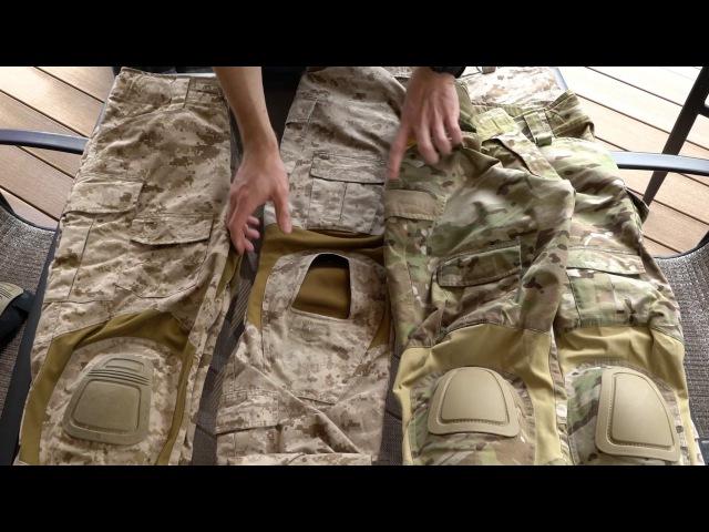Crye Precision Combat Pants Comparison