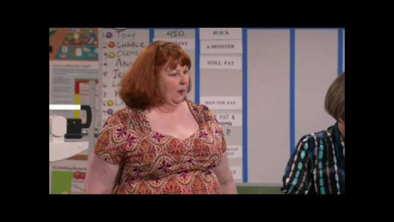Little Britain USA - Fat Fighter 3 - Marjorie accuses Jenny of cheating to lose weight .