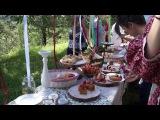Свадьба в славянском стиле от Шалфей кейтеринг  Wedding CHALFEI catering
