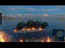Новые спец. эффекты пожар на корабле