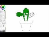 Lindo cactus  Cute cactus Kawaii