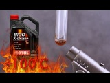 Motul 8100 X-Clean 5W30 How clean is engine oil? Test above 100°C
