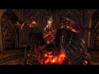 Dark Souls 2 Boss Smelter Demon (Демон из Плавильни)