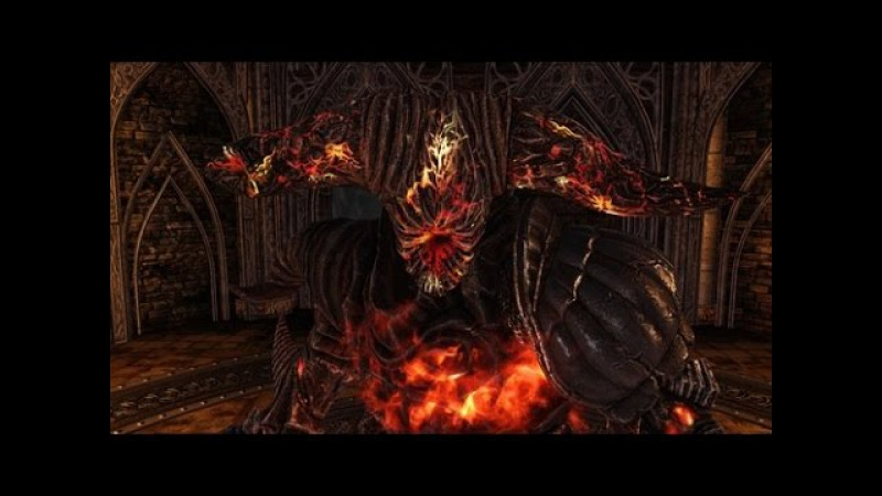 Dark Souls 2 Boss Smelter Demon (Демон из Плавильни)