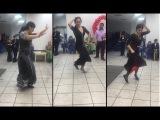 Танцуют цыганочки на свадьбе