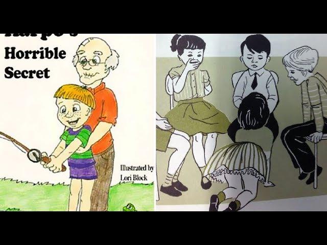 Педофилы в детских книгах. Поганый запад