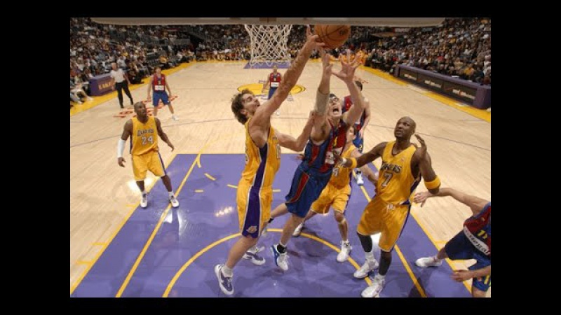 FC Barcelona @ Los Angeles Lakers 2008 NBA Euroleague Preseason Basketball FULL GAME Spanish