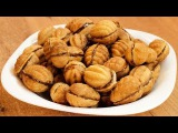 Орешки со сгущённым молоком / Sweetened condensed milk-filled walnuts recipe ♡ English subtitles