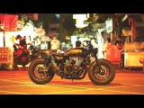 2015 Yamaha XJR1300 Guerilla Four by Rough Crafts Yard Built promo video
