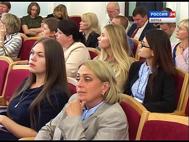 А. Браверман в Кирове (ГТРК Вятка)
