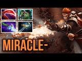 Miracle- Monkey King 9k MMR vs New Navi Player Rodjer - Dota 2