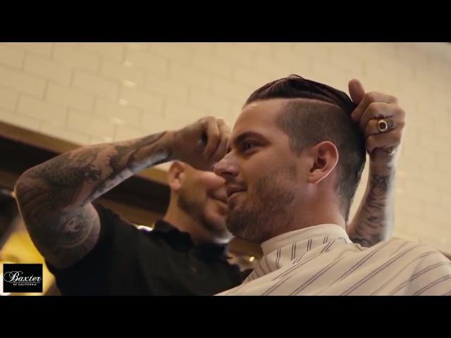 A Day at Baxter Finley Barber Shop