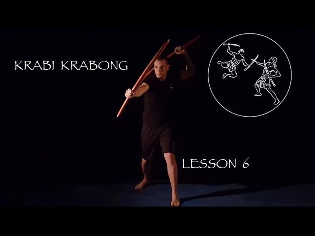 Krabi Krabong - lesson part 6 - ATTAQUES COMBO