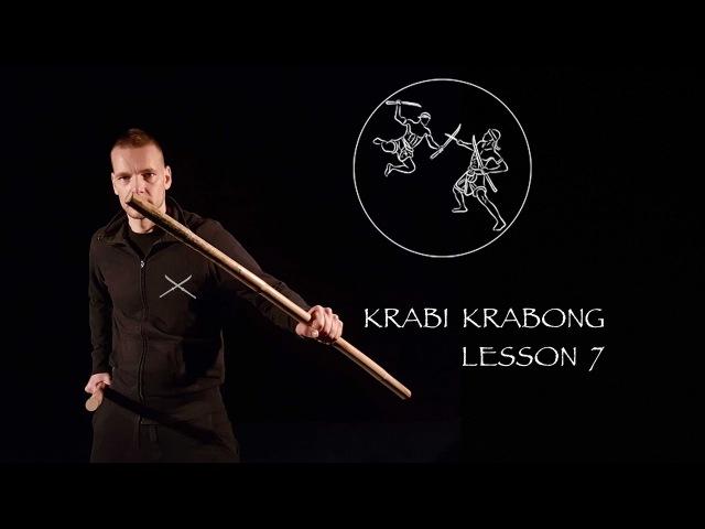 Krabi Krabong - lesson part 7 - ATTAQUES COMBO (suite)