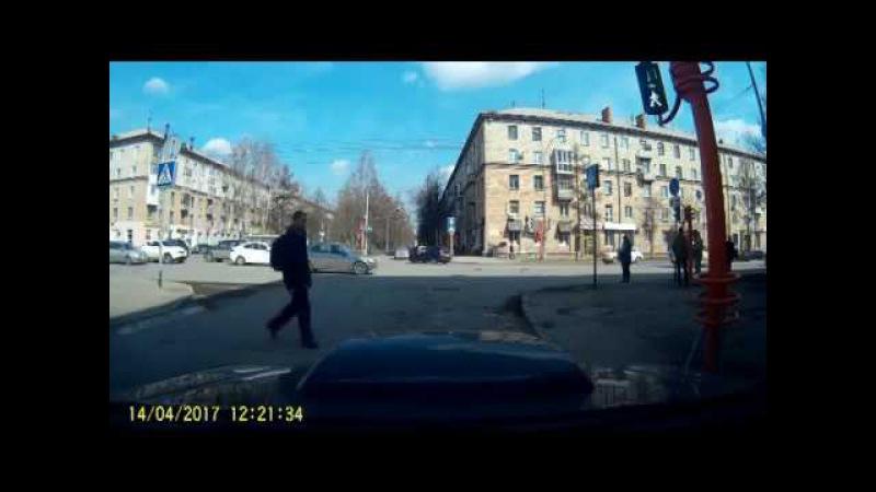 Человек из Кемерова и светофор