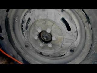 Славута - ремонт ходовой, регулировка клапанов