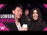 Loreen Statements @ Melodifestivalen 2017 ENGLISH INTERVIEW Skellefteå