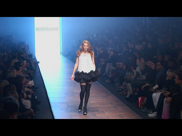 PAPROCKI BRZOZOWSKI Fashion Week Poland 2010 October HD