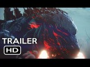 Godzilla Monster Planet Official Trailer 1 2017 Netflix Animated Movie HD