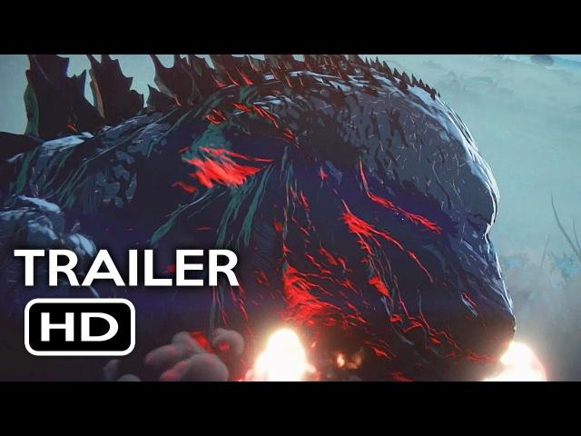 Godzilla: Monster Planet Official Trailer 1 (2017) Netflix Animated Movie HD