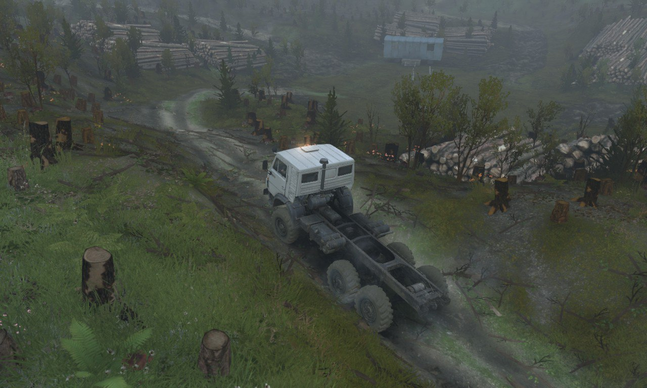 Карта «Somewhere in Russia» для Spintires - Скриншот 1