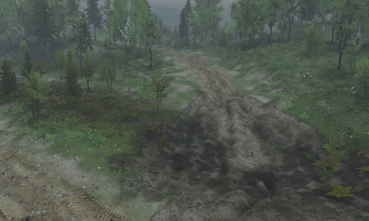 Карта «Somewhere in Russia» для Spintires - Скриншот 3