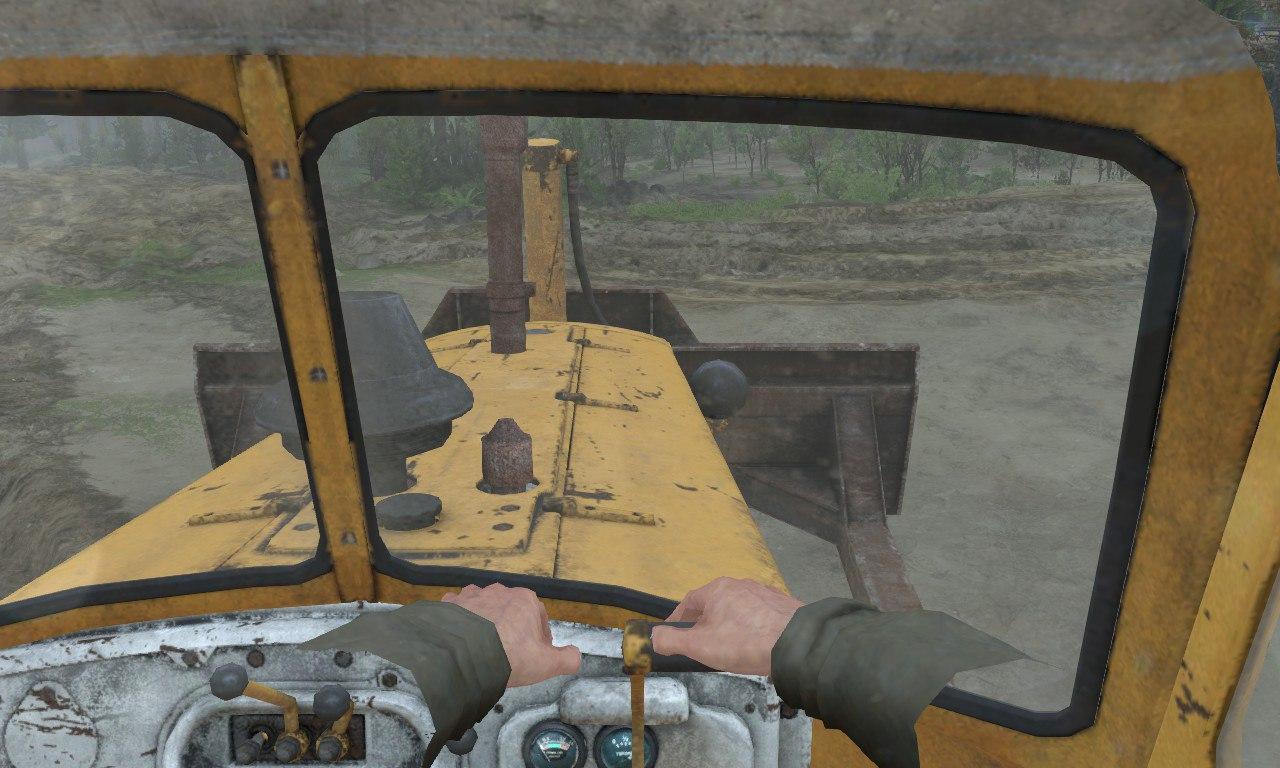ДТ-75 Бульдозер для 03.03.16 для Spintires - Скриншот 1