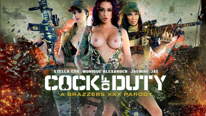 Jasmine Jae, Monique Alexander, Stella Cox & Danny D [HD 720, Big Naturals, Big Tits, Parody, Soldier Girl, Uniform]