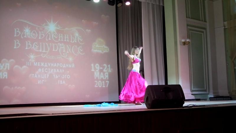 Влюбленные в Bellydance.19-21мая г.Барнаул Еремеева Стелла любители начинающие 3 место