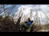 Якутский хомус в весеннем парке