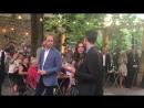 Прибытие Уильяма и Кэтрин в Clärchens Ballhaus, 20.07.2017