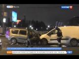 3 человека пострадали в результате ДТП на Крымском валу (Вести-Москва)