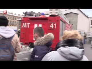 Взрыв в питерском метро. Сенная площадь. Камера 1