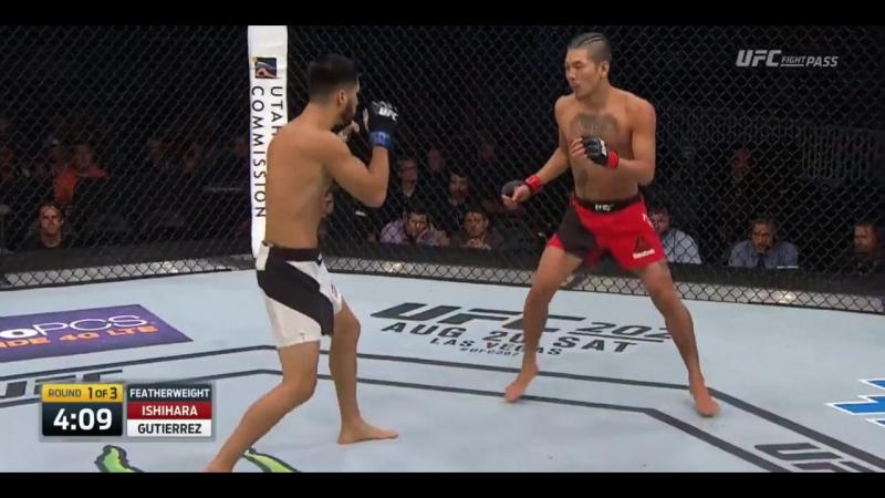 Teruto Ishihara vs. Horacio Gutierrez (06.08.2016)
