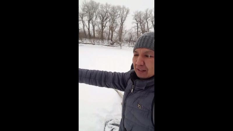 ледовый 28 км. марш-бросок по р. Чаган 03.12.2016 г.