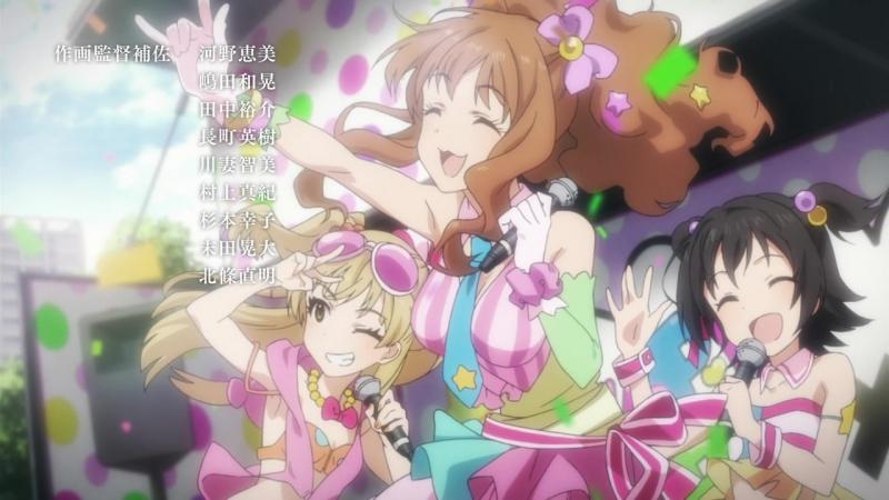 Идолмастер: Девушки-Золушки. Эндинг 5 /ED EP 10/ Idolmaster Cinderella Girls. Ending 5