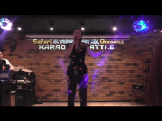 Юлия Пилюгина - Благодарю! (Live, Safari karaoke 03-06-2017)