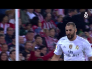 Six Karim Benzema goals against Athletic!