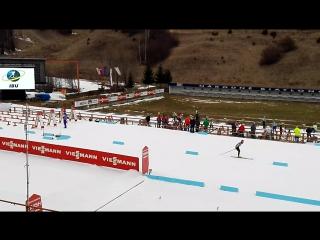 На стадионе за час до старта. Юниорский чемпионат мира, Брезно-Осрбле, Словакия.